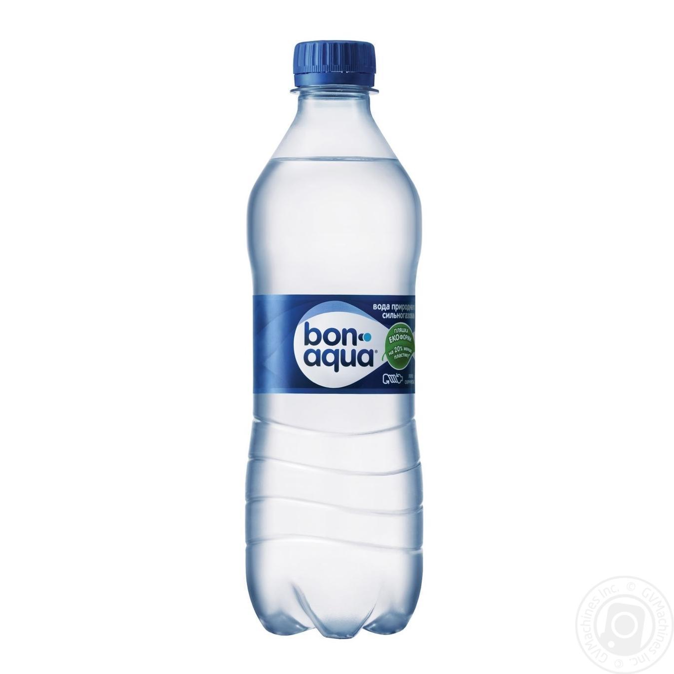 Купить Мінеральна вода, Вода Бонаква сильногазована 0, 5л