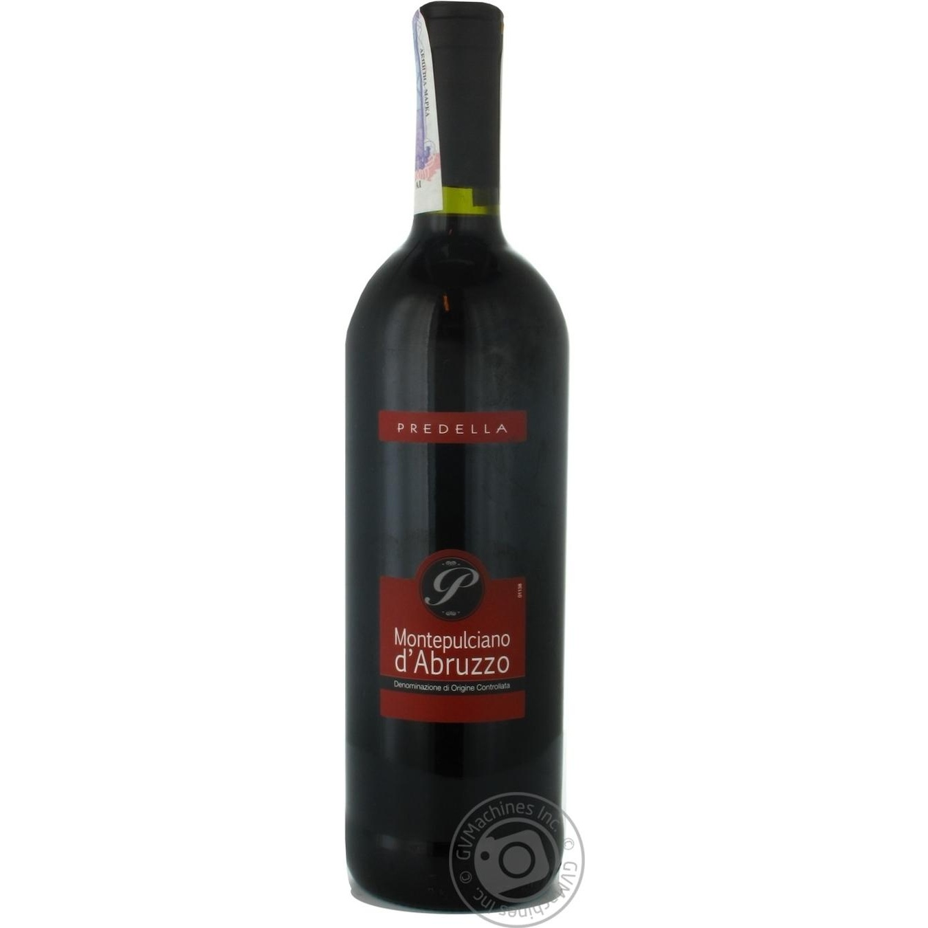 Купить Алкоголь та енергетики, Вино Pridella Монтепульчано ДеАбруццо червоне сухе 0, 75л