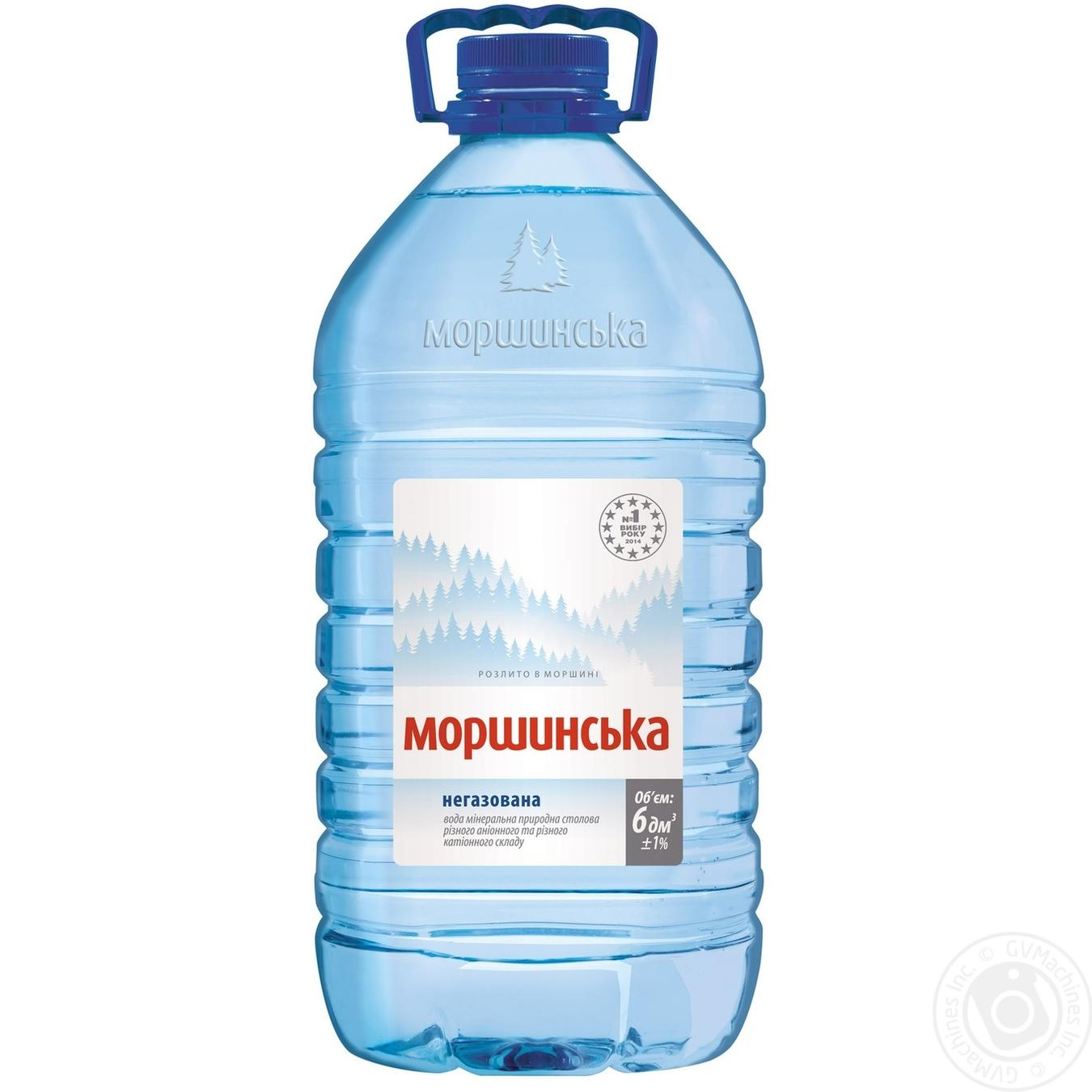 Купить Вода Моршинская негазировання 6л
