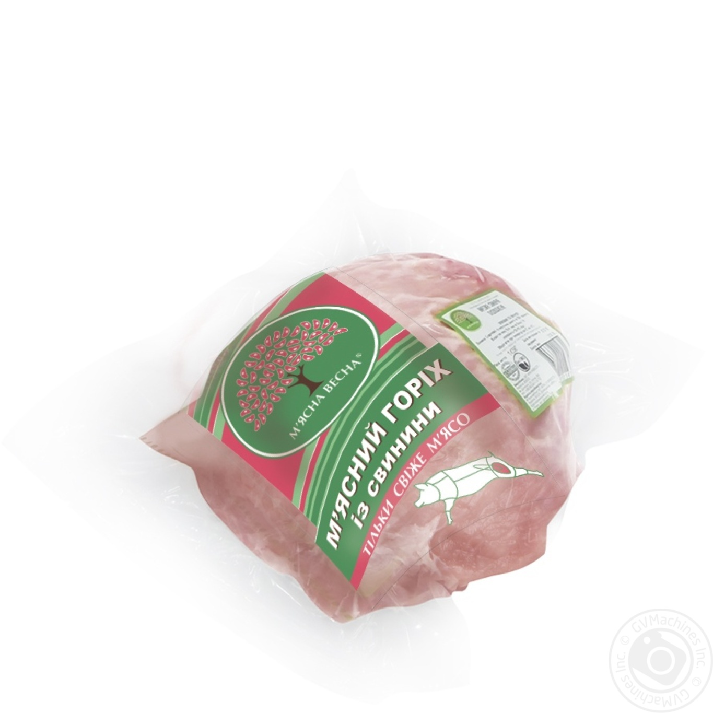 Купить М'ясний горіх зі свинини М'ясна весна вакуум від 1200г