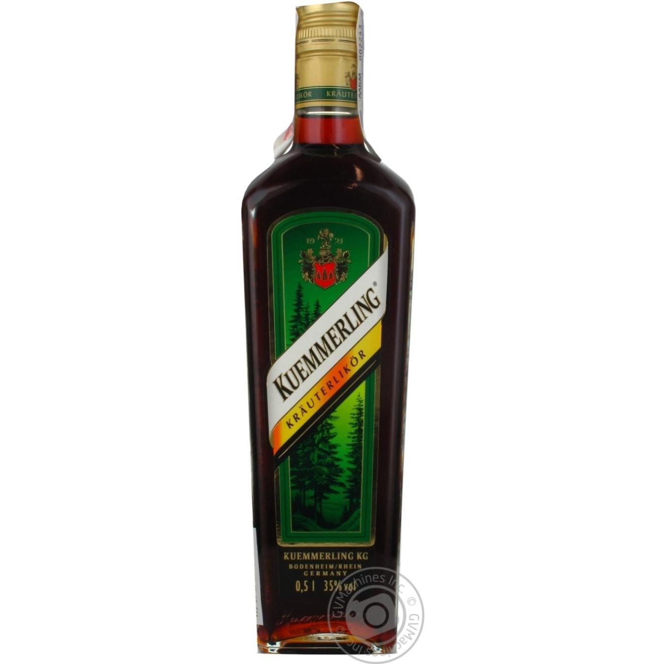 Купить Алкоголь та енергетики, Лікер Kuemmerling 0.5л