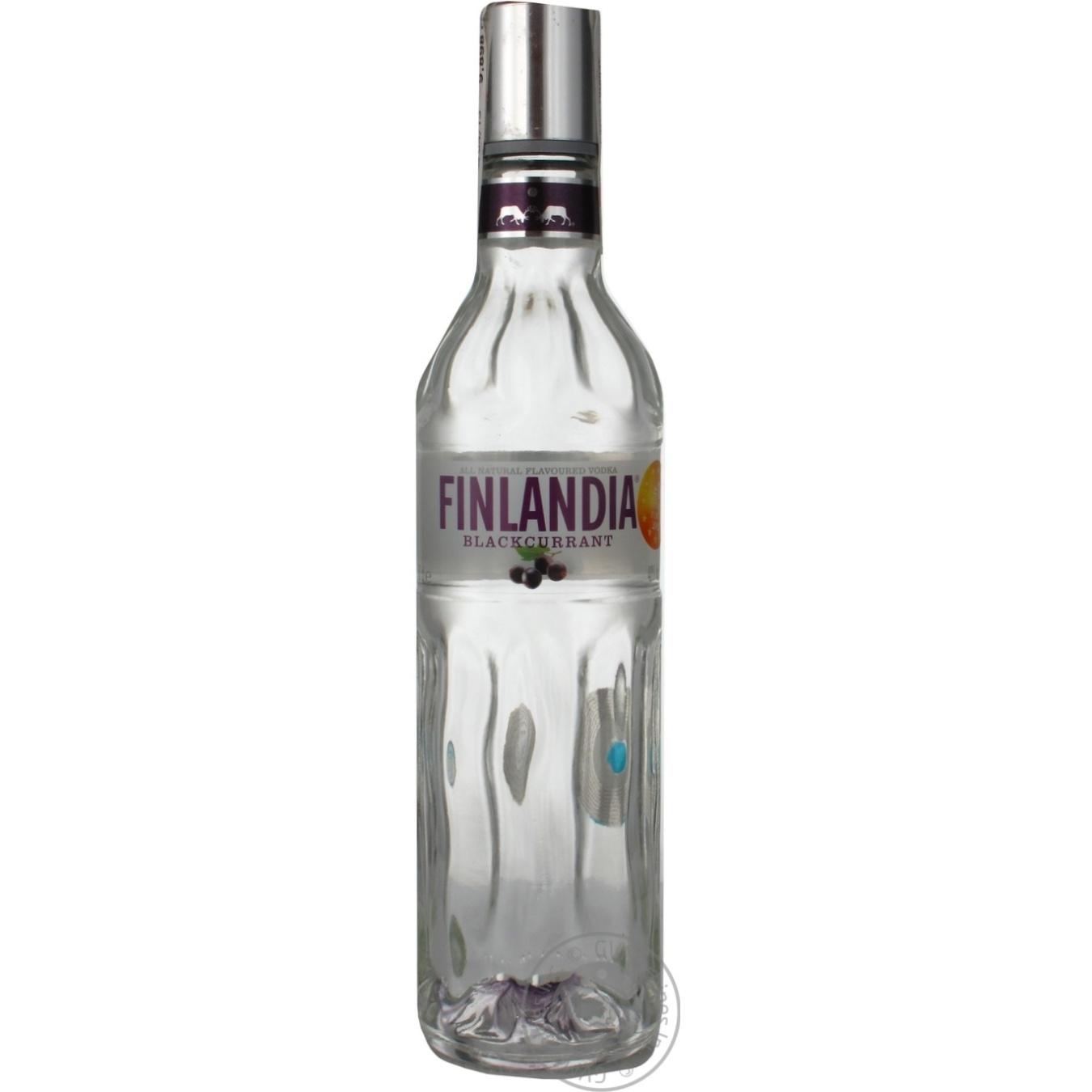 Купить Водка Finlandia Черная смородина 0, 5л