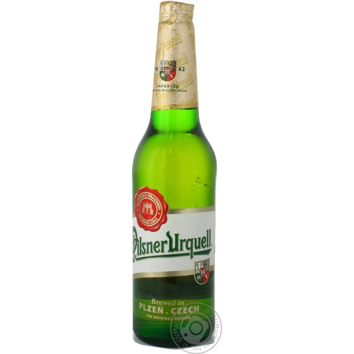 Купить Пиво Pilsner Urquell світле 4.4% 500мл