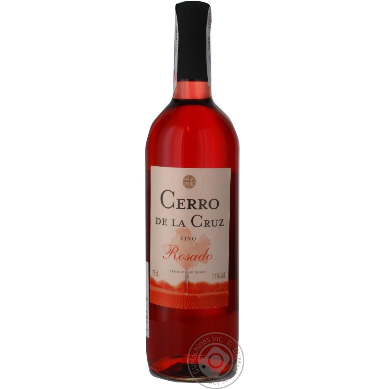 Вино Cerrо de la Cruz Rosado рожеве сухе 0,75л