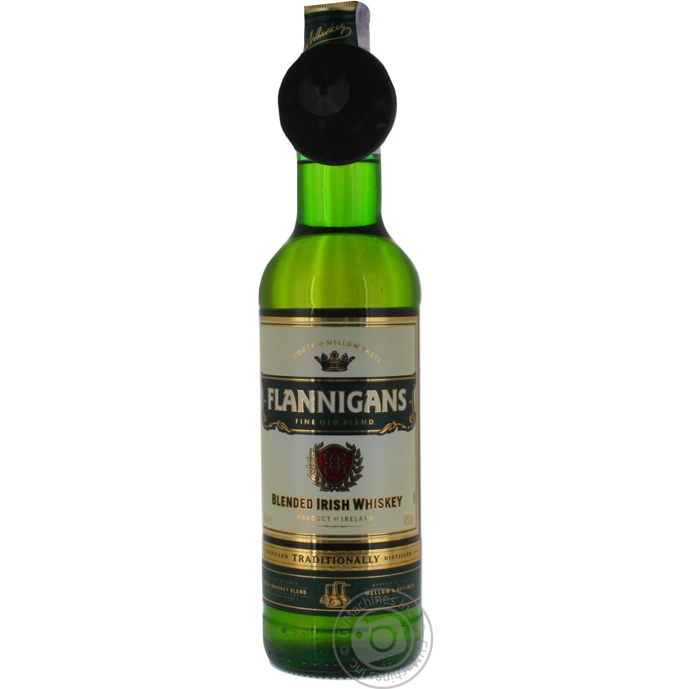 Виски Flannigans ирландское 0, 7л  - купить со скидкой