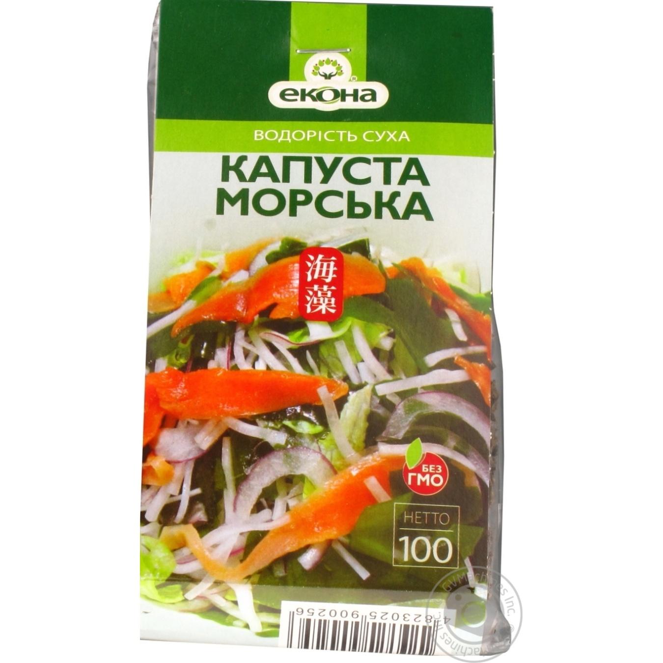 Купить EKONA МОР.КАПУСТА СУХА 100Г