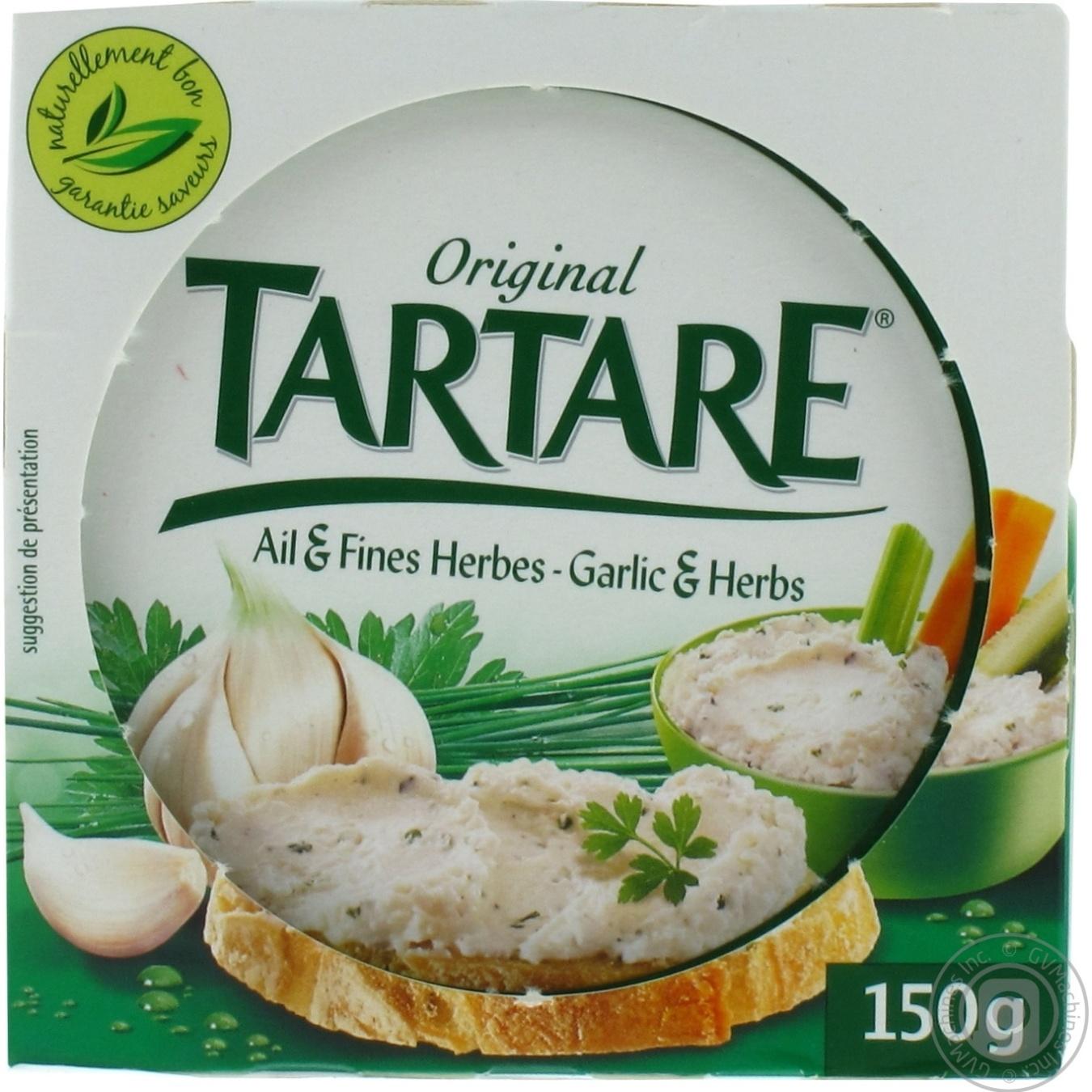Купить ТАРТАР СИР З ЧАСНИКОМ 150Г