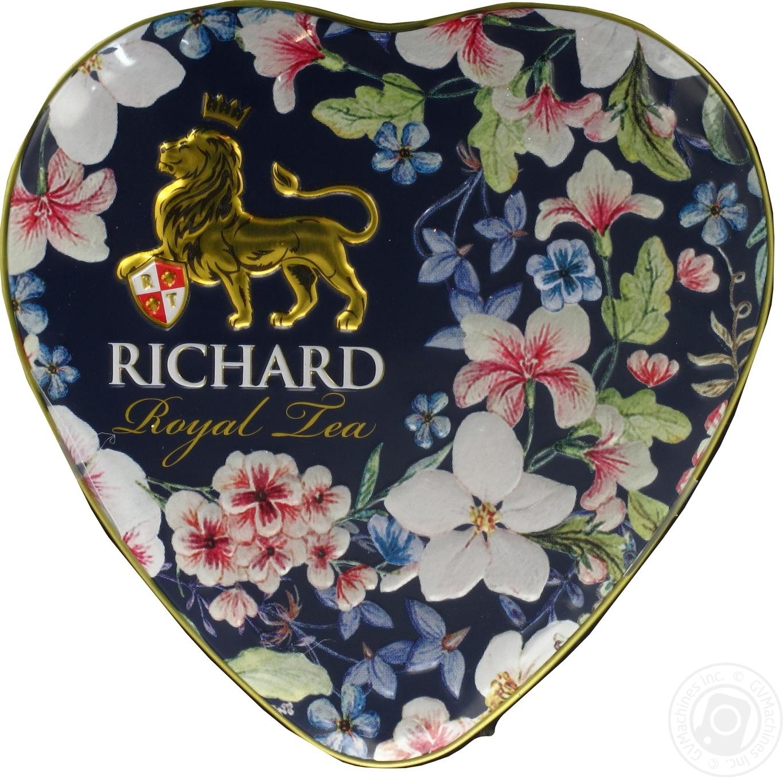 Купить Чай чорний Richard Королівське серце 30г