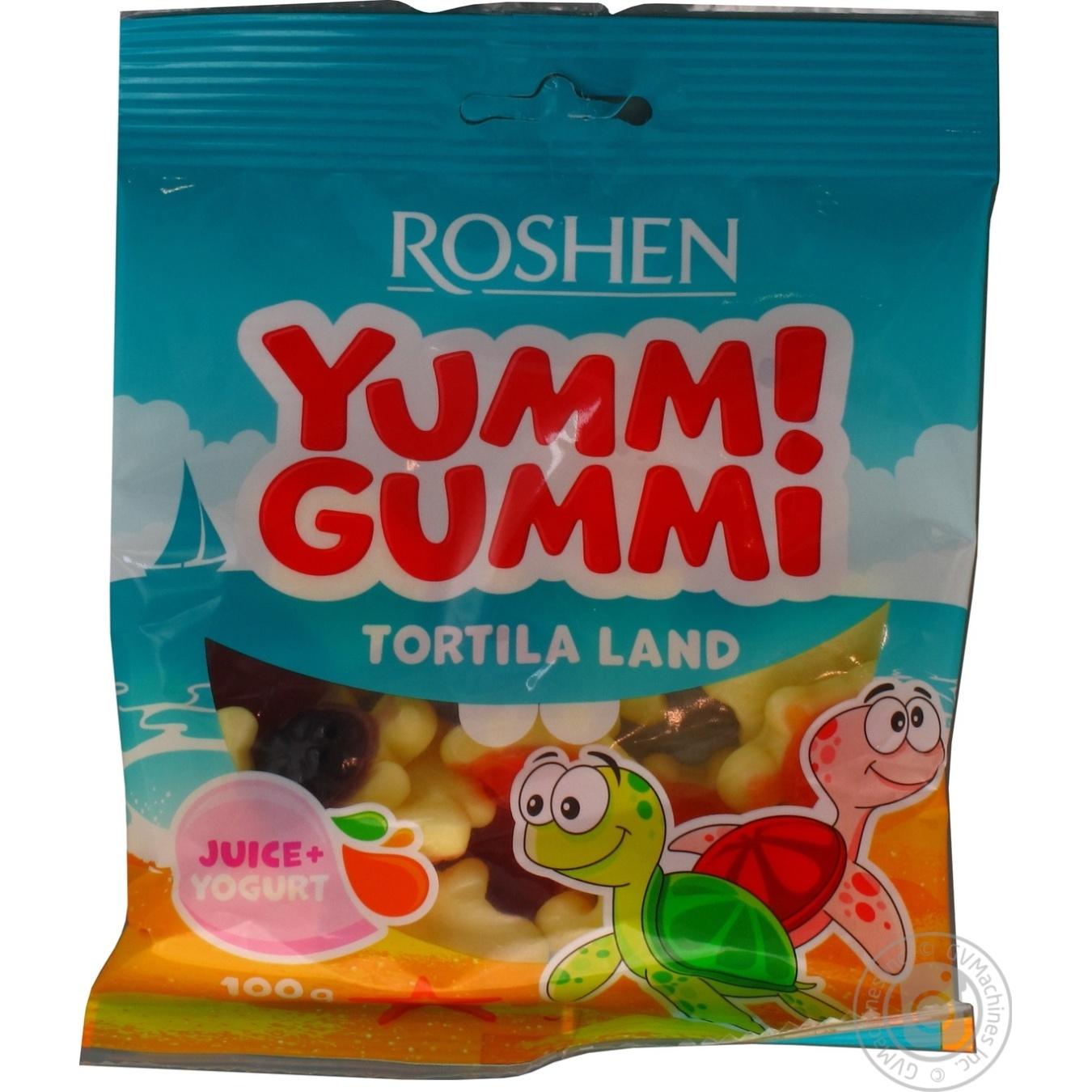 Купить Цукерки Roshen Yummi Gummi Tortila Land 100г