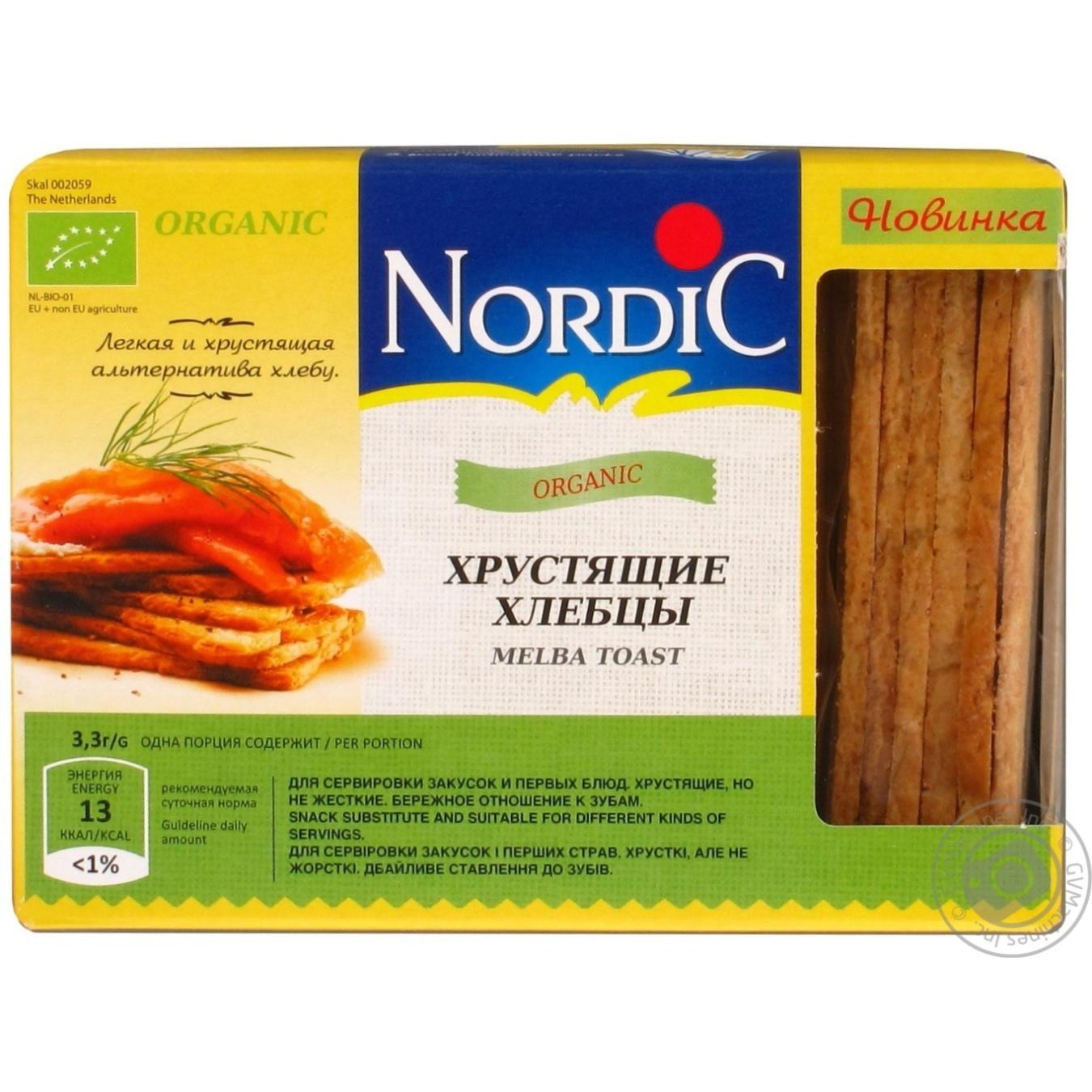 Купить Хлебцы Nordic органический хрустящие 100г