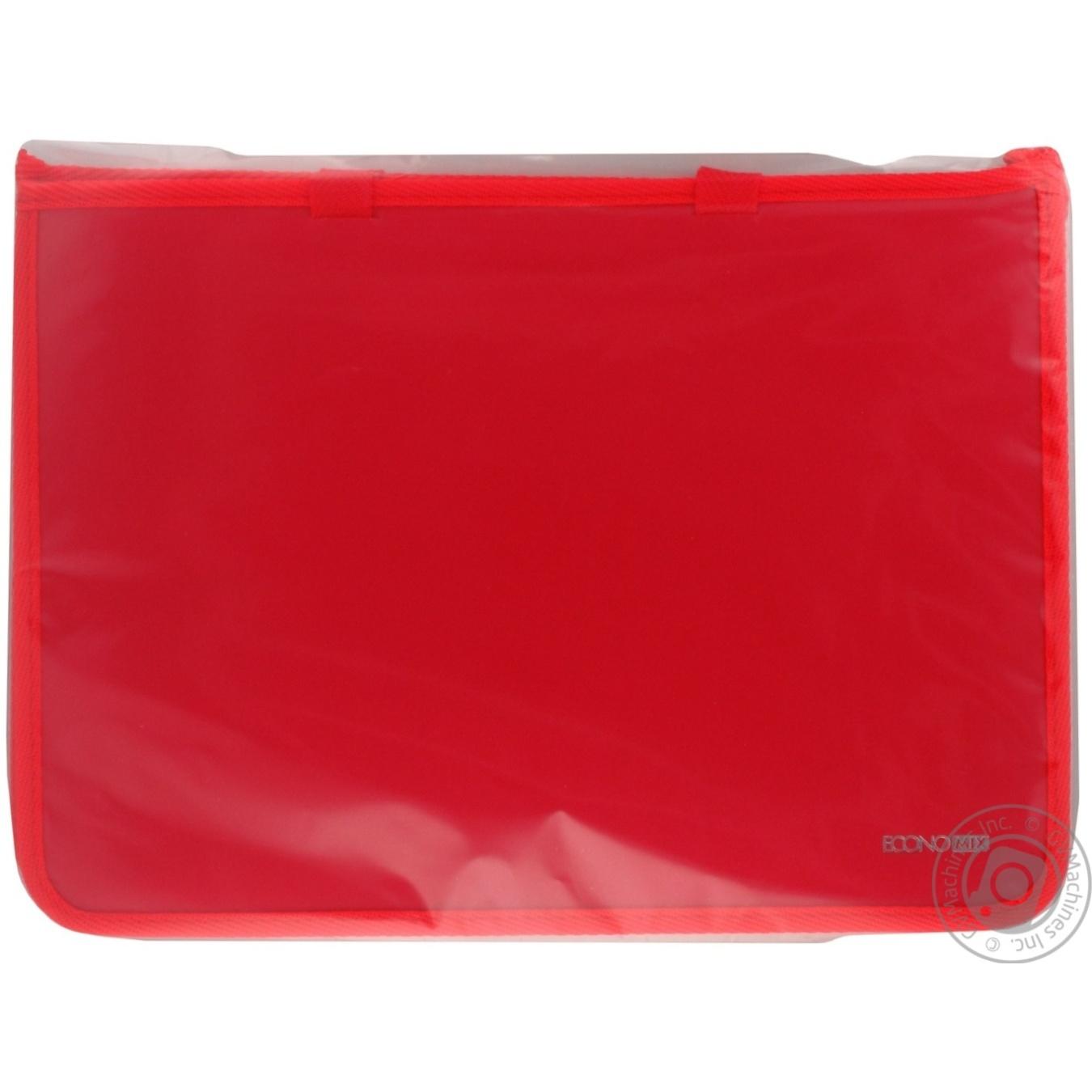 Купить Портфель Economix пластиковый на молнии