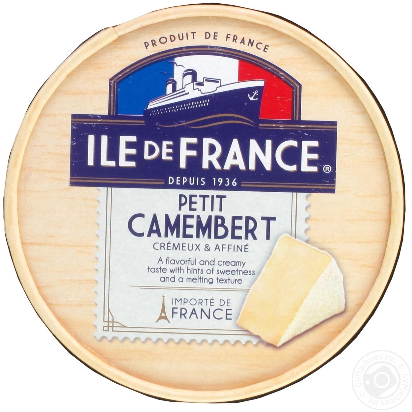 Купить Сир Ile de France petit Camembert м'який 125г