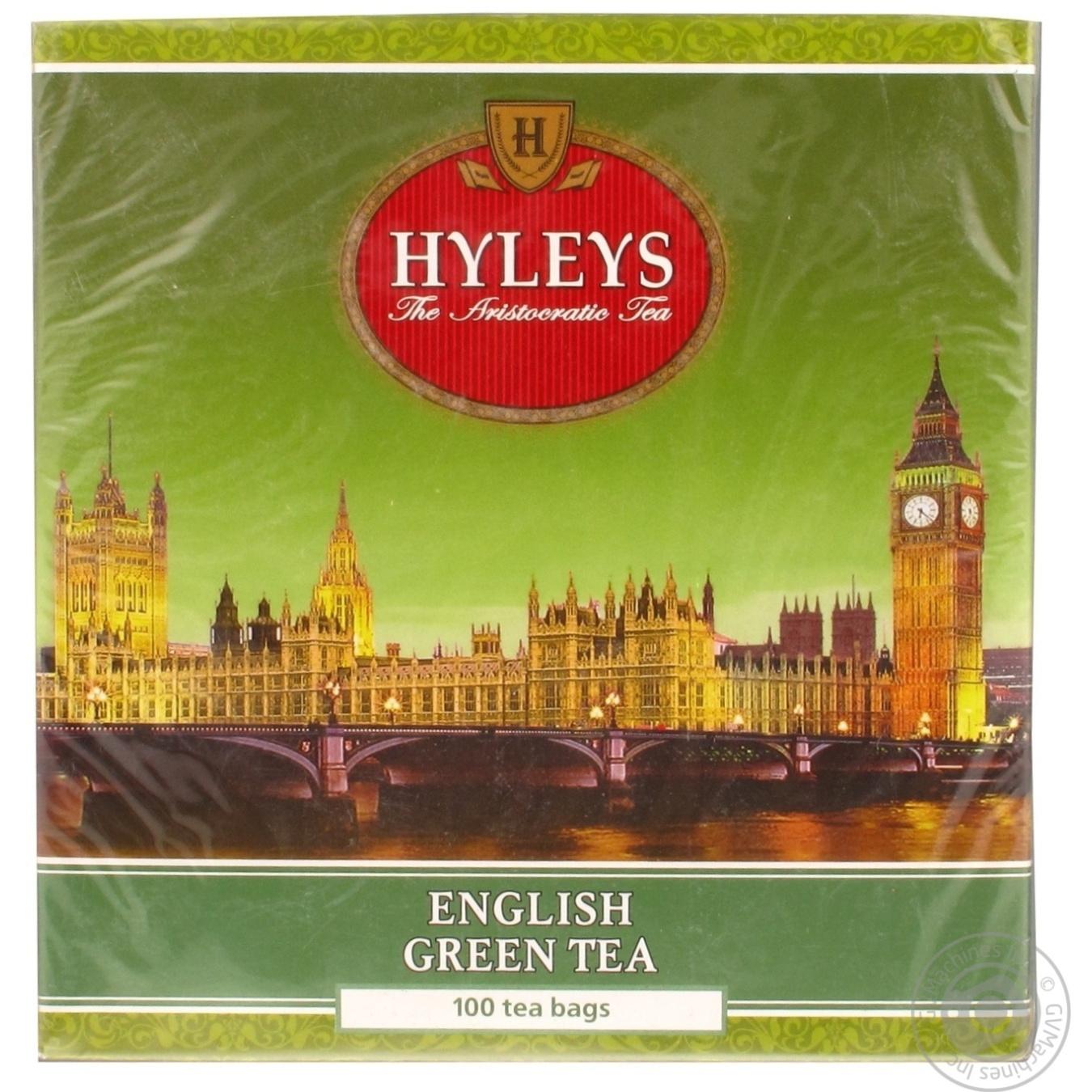 Купить Чай Хейліз Англійський зелений 1, 5 х 100шт