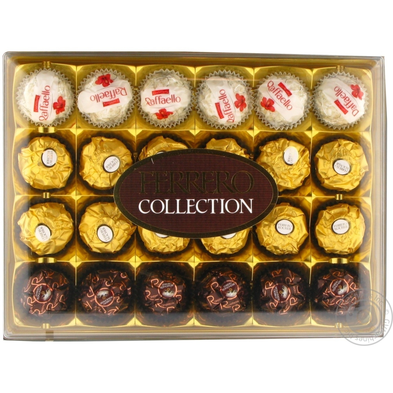 Купить Цукерки та батончики, Цукерки Ferrero Collection набір асорті 260г