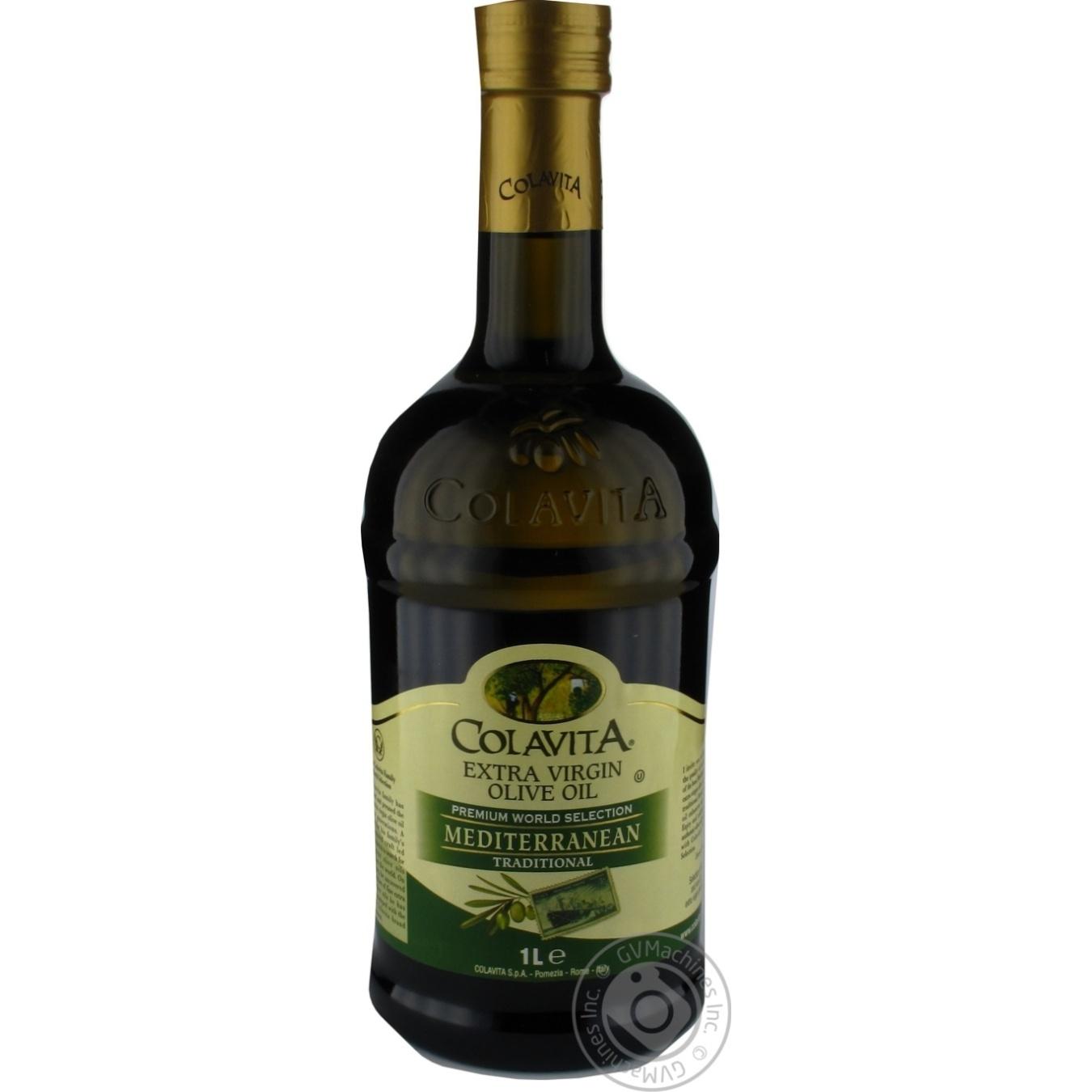 Купить Олія та оцет, Олія COLAVITA оливкова extra vergine 1л