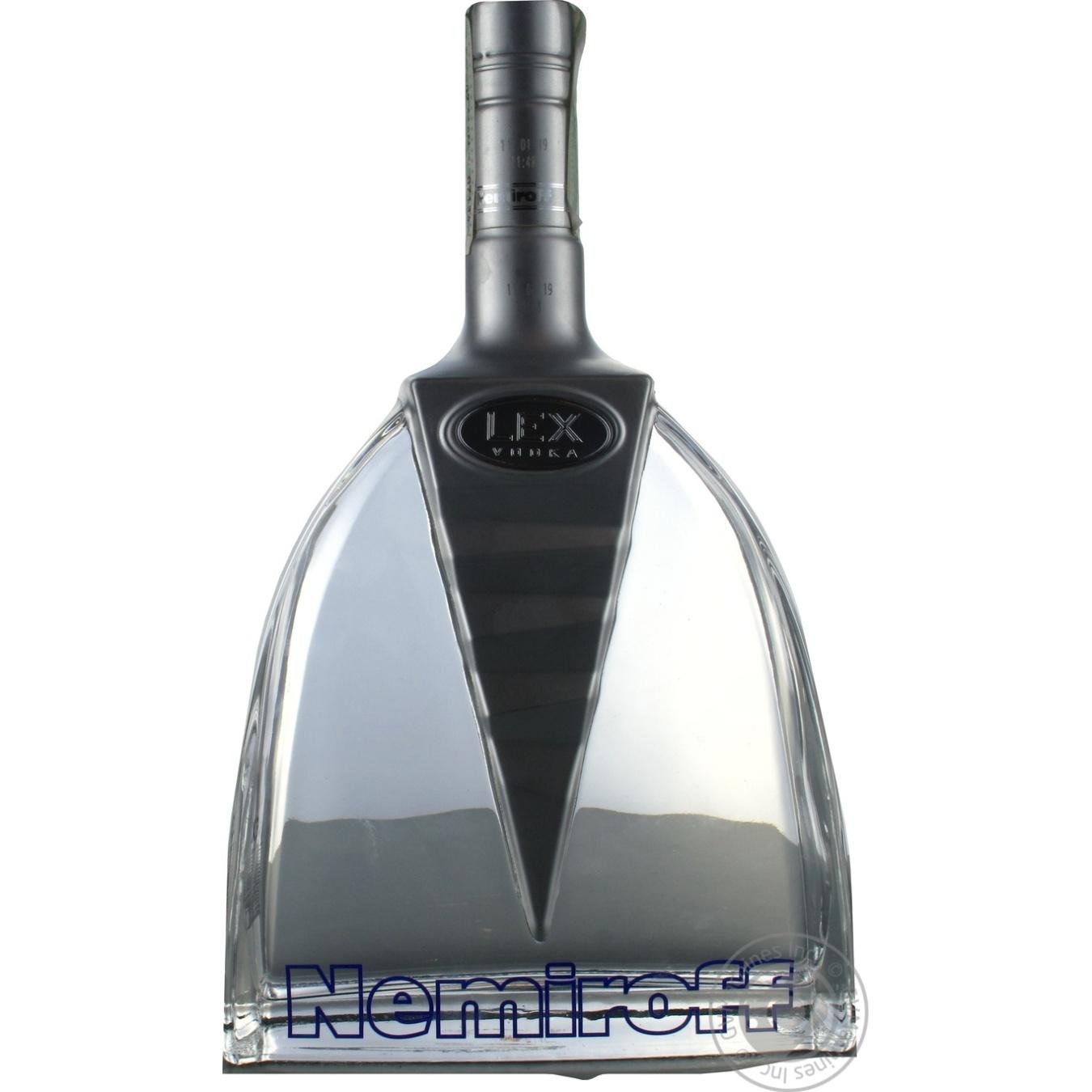 Купить Алкоголь та енергетики, Горілка Nemiroff Lex 40% 1л
