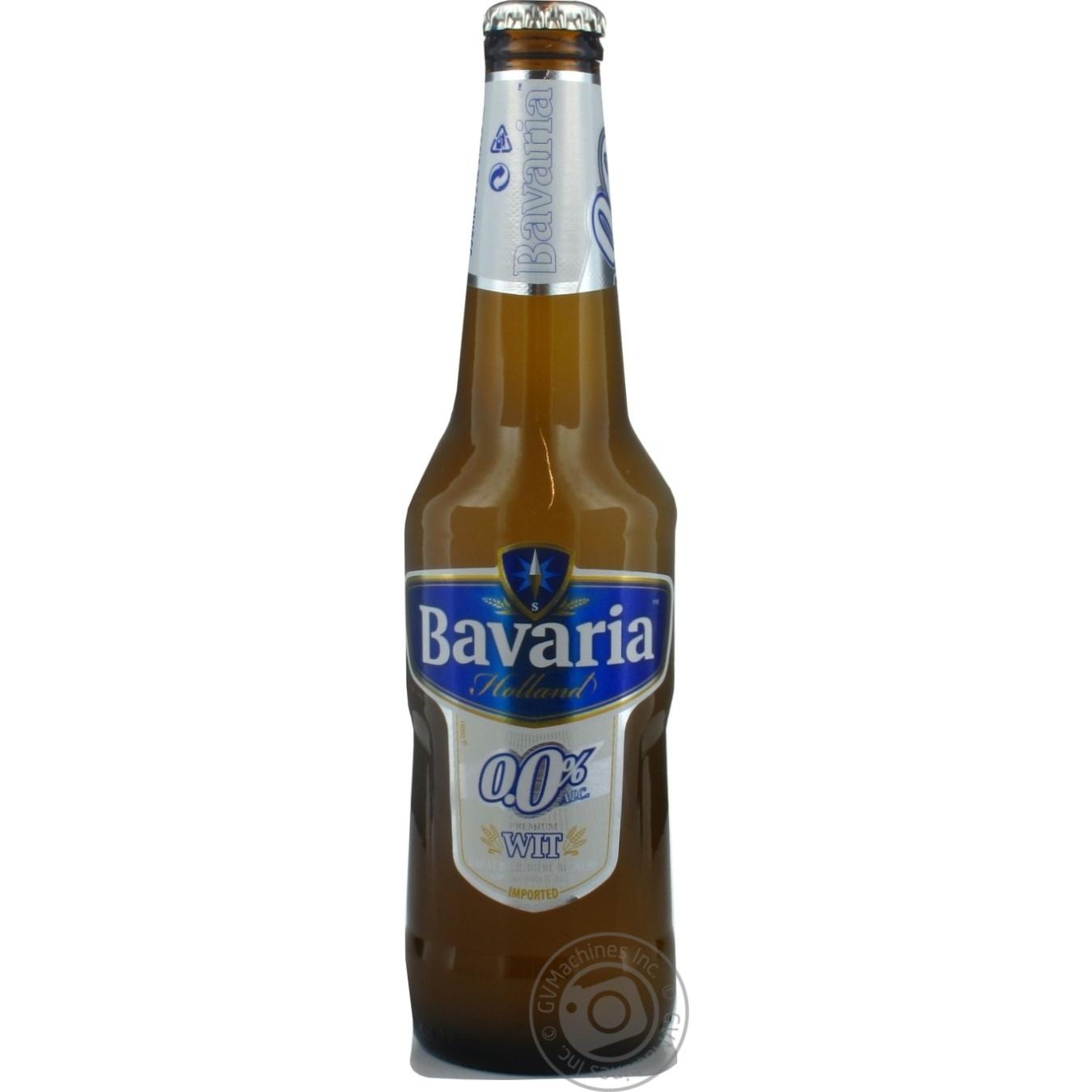 Купить Алкоголь та енергетики, Пиво Bavaria світле 0% 0, 33л Нідерланди