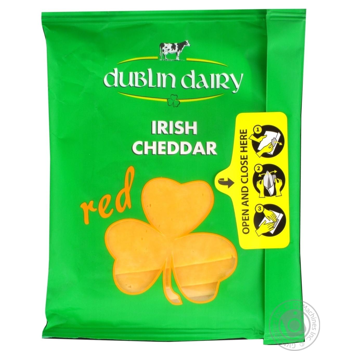 Купить Сир Dublin Dairy твердий червоний сичужний сир скибочками 48% 150г