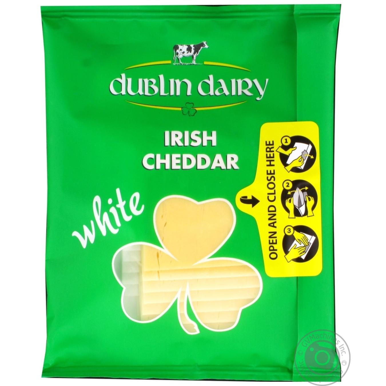 Купить Сир Dublin Dairy твердий білий сичужний сир скибочками 48% 150г