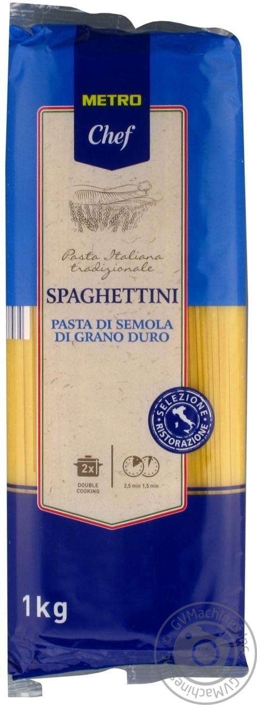 Купить Макарони, Макаронні вироби Metro Chef Спагеттіні з твердих сортів пшениці 1кг